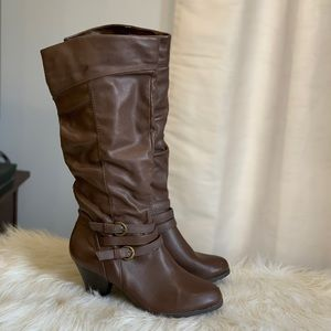 Merona brown boots size 6.5